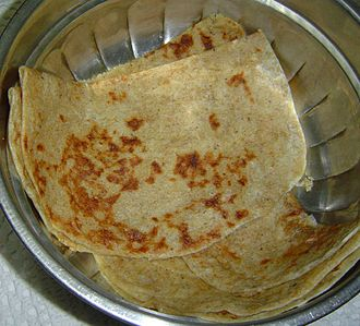 Ugadi -  Bobbattu or Bhakshalu/Holigey -prepared on Ugadi in Maharashtra, Andhra Pradesh, Karnataka and Telangana state.