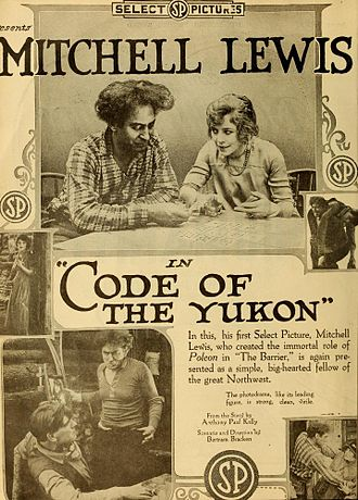 Mitchell Lewis - Code of the Yukon (1919)