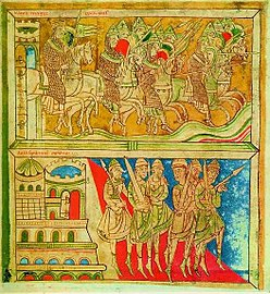 Codex Calixtinus (Liber Sancti Jacobi) F162v siglo XII.jpg