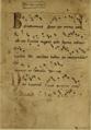 Codex Las Huelgas, f°160v - Benedicamus sane per omnia non est res, Johannes Roderici.png