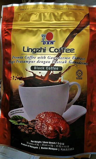 Lingzhi mushroom - Coffee with Lignzhi Extract