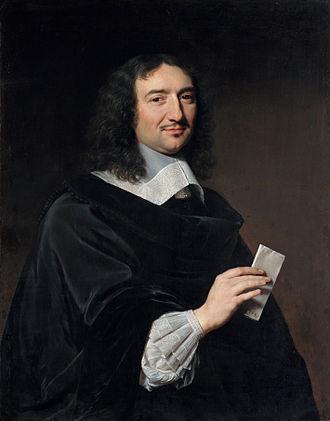Jean-Baptiste Colbert - Portrait of Jean-Baptiste Colbert, by Philippe de Champaigne (1655)