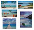 Collection of paintings by Tom Franz Australian Artist 04.jpg