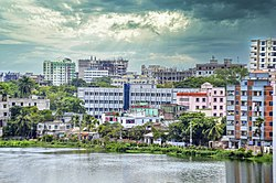 Cityscapes of Comilla City