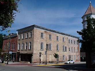 National Register of Historic Places listings in Crawford County, Wisconsin - Image: Commercial Hotel Prairie du Chien