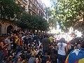 Concentració davant la seu CUP de Barcelona contra l'assalt policial - 4.jpg
