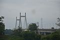 Concrete Cable Stayed Bridge - Across River Yamuna - NH 27 - Naini 2014-07-06 7264.JPG