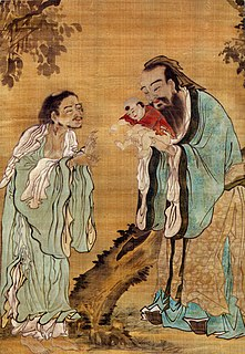 Term referring to Confucianism, Taoism and Buddhism collectively, considered as a harmonious aggregate