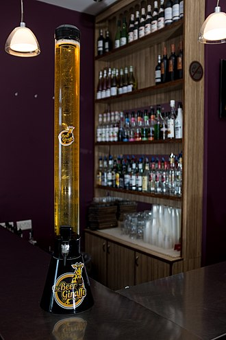Beer tower - Conic beer tower