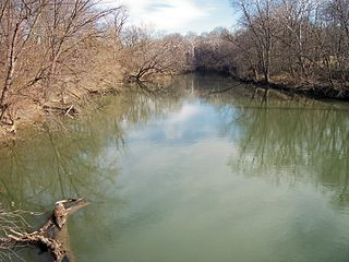 Conococheague Creek tributary of the Potomac River in Pennsylvania and Maryland, United States