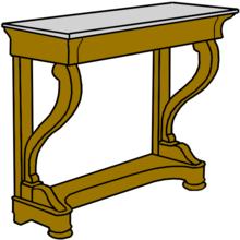 Console Meuble Wikipedia