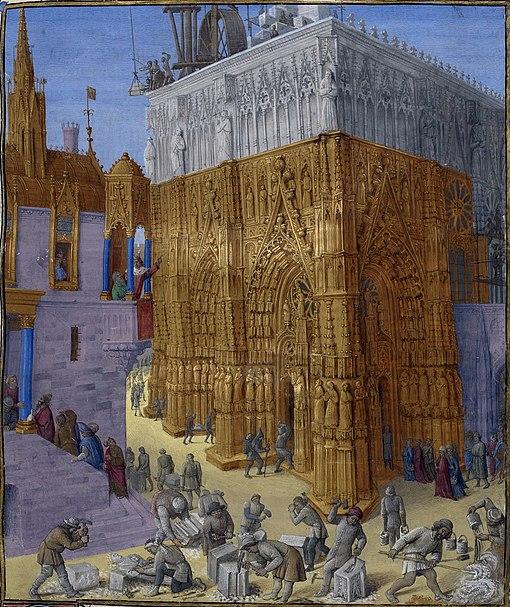 Construction du Temple de Jérusalem
