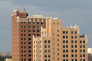 Harold Hamm - The Continental Towers in Enid, Oklahoma
