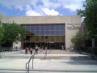 Circuit Court of Cook County - One of the Circuit Court's courthouses