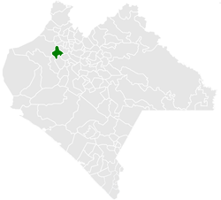 Municipality of Frontera Hidalgo in Chiapas
