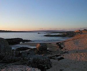 Carraroe - Image: Coral Beach, An Cheathru Rua Theas, Co Galway geograph.org.uk 338088