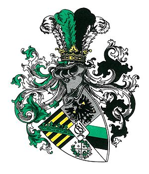 Corps Saxo-Borussia Heidelberg - Image: Corps Saxo Borussia Heidelberg (Wappen)