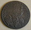 Cosimo III granduke of tuscany coins, 1670-1723, mezza piastra 1676.JPG