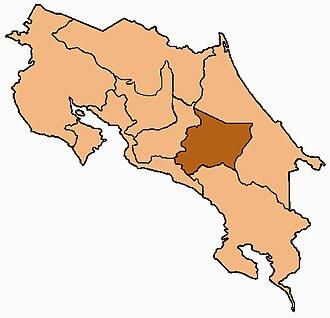 Roman Catholic Diocese of Cartago in Costa Rica - Image: Costa Rica Diocesi di Cartago