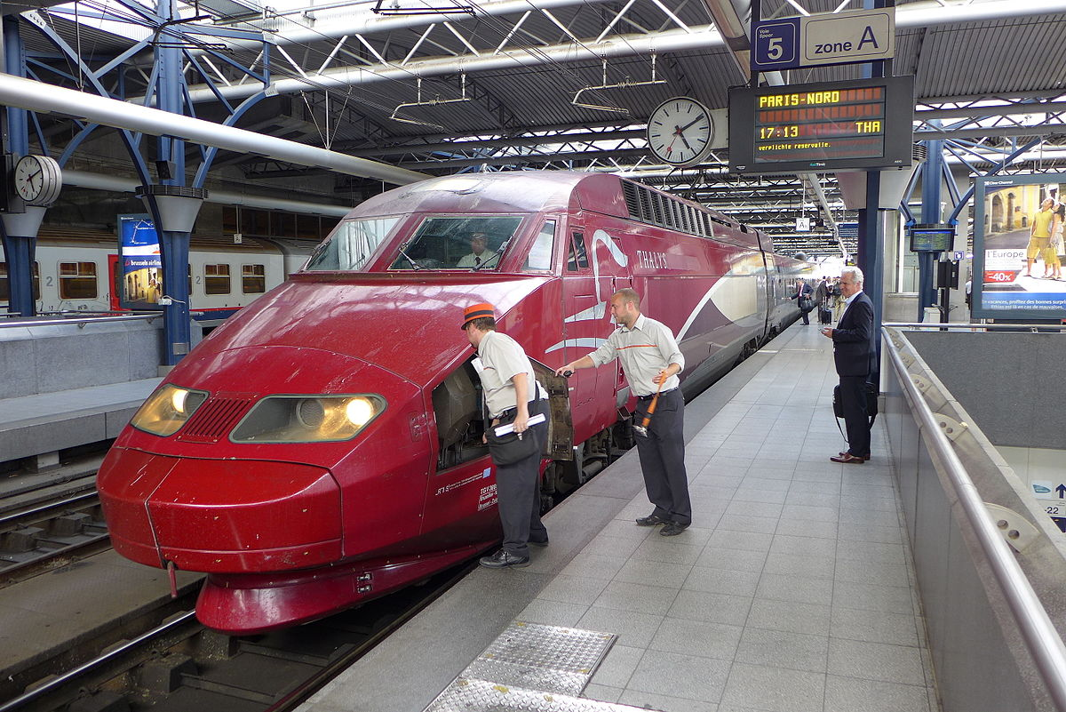 Today Technology change Morocco to High-Speed Train