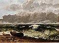 Courbet - La mer orageuse, dit aussi La vague, 1870.jpg