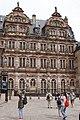Courtyard facade of Friedrichsbau - Heidelberg Castle - Heidelberg - Germany 2017 (2).jpg