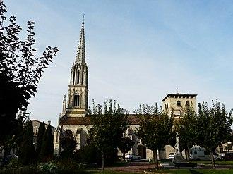 Coutras - Coutras church