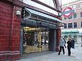 Covent Garden tube station during Boxing Day 2011 tube strike.JPG