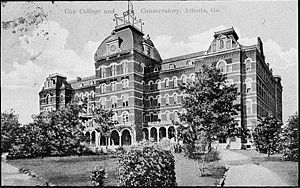 Cox College - Cox College and Conservatory, 1900