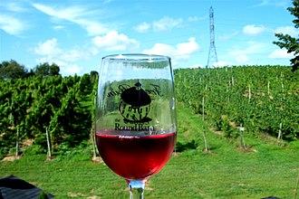 Michigan wine - Cranberry wine and vineyard in the Lake Michigan Shore AVA