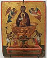 Creta o venezia, madonna fonte di vita, 1590-1600 ca, firmata nik. batzas.JPG