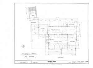 Crews Farm, Macclenny, Baker County, FL HABS FL-398 (sheet 6 of 24).png