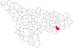 Vị trí của Criciova