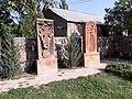 Crosstones in Holy Mother of God Church, Yeghvard 07.jpg