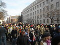 Crowds on 18th Street - 2009 presidential inauguration.JPG