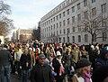 Crowds on 18th Street - 2009 presidential inauguration.JPG