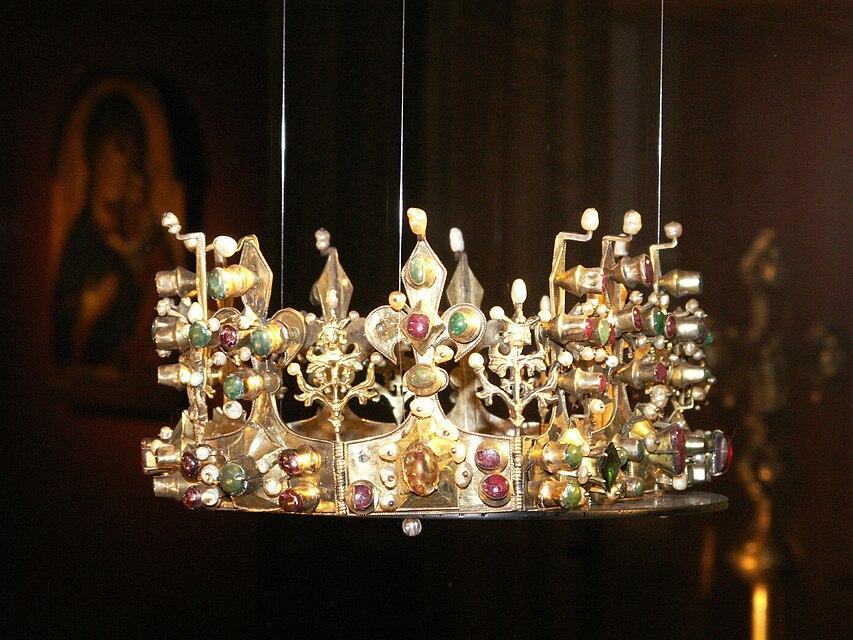"""""""12 stoljeća državotvornosti Bosne"""" - Page 2 853px-Crown_of_Elizabeth_Kotromanic_in_Zadar"""