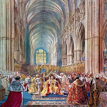 Incoronazione Di Un Monarca Britannico Wikipedia