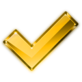 Crystal Project tick yellow.png
