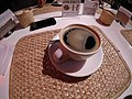 Cup of coffee at 123 restaurant Mexico City.jpg