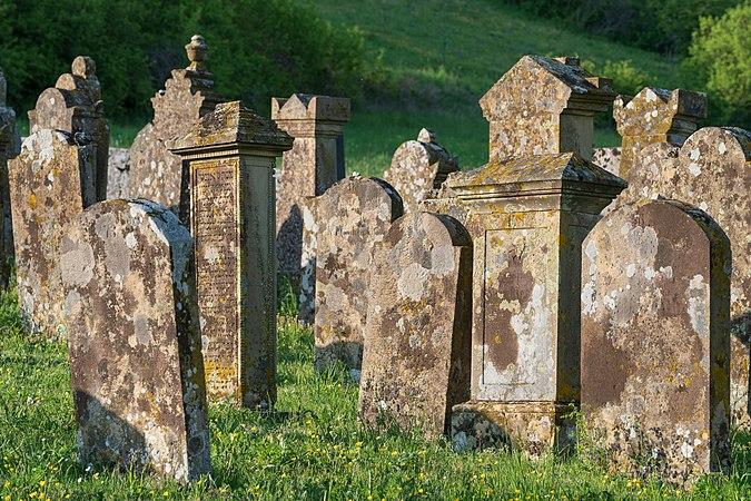 Dörzbach - Hohebach - Jüdischer Friedhof - Detailansicht 1.jpg
