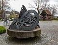 Dülmen, Buldern, Skulptur am Großen Spieker -- 2015 -- 5497.jpg
