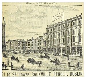 Clerys - Image: DINGNAM(1891) p 011 CLERCY & CO, LOWER SACKVILLE STREET