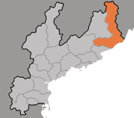 Location of Tanchon