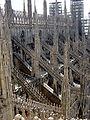 DSC08090 - Milano - Sul tetto del Duomo - Foto Giovanni Dall'Orto - 18-jul-2003.jpg