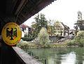 D Bad Säckingen Holzbrücke Grenze.JPG