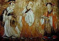Dahuting tomb mural showing hanfu dress, Eastern Han Dynasty.jpg