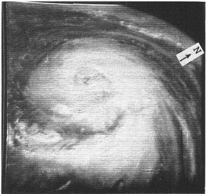 1962 Atlantic hurricane season - Image: Daisy.1