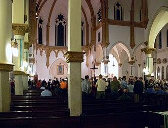 Cathedral Santuario de Guadalupe (Dallas, Texas) - Interior