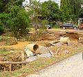 Damaged near Laplae hospital.jpg